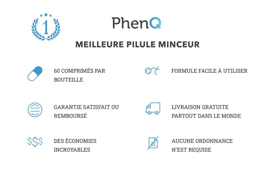 Les avantages de PhenQ
