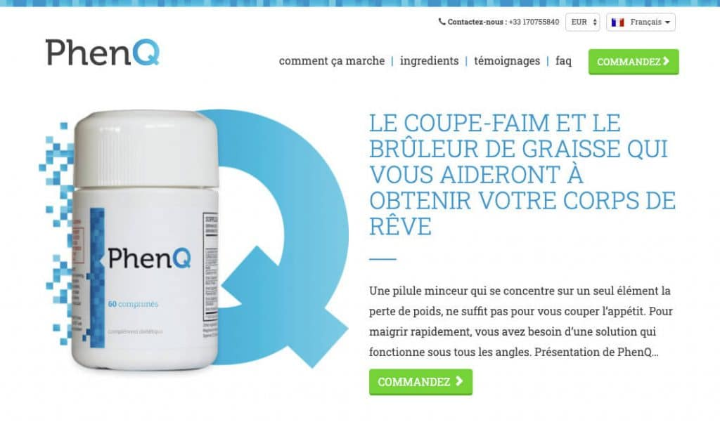 Site officiel de PhenQ France
