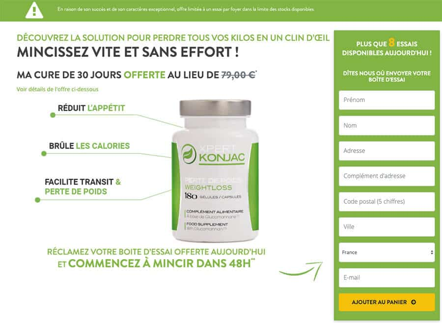 Site officiel de Xpert Konjac