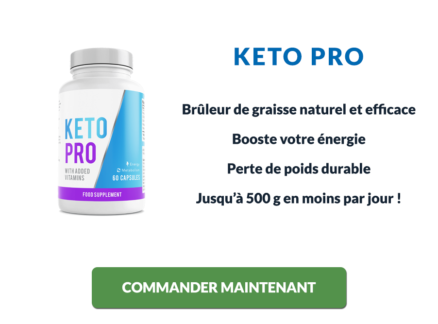 Les avantages de Keto Pro pour perdre du poids